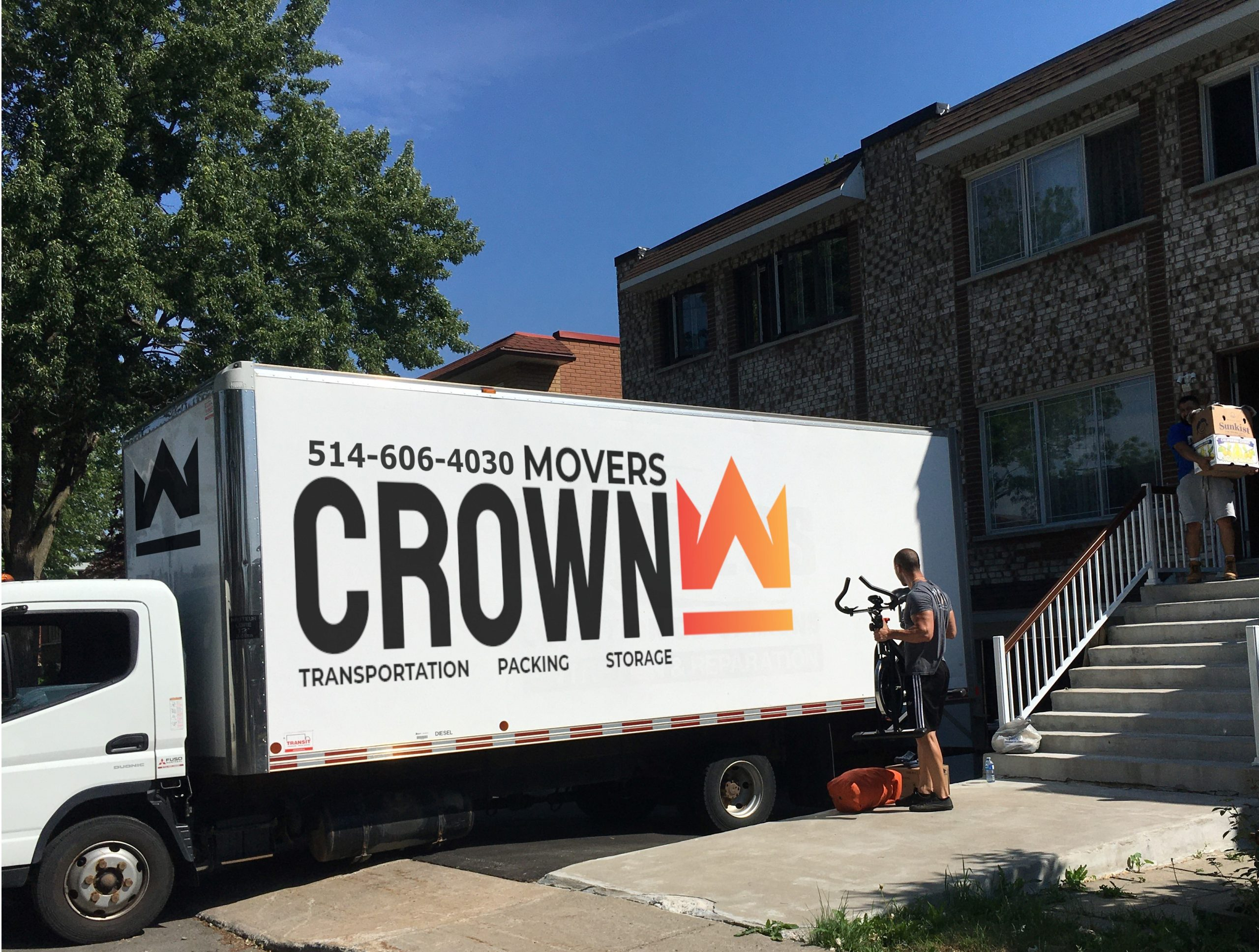 Crown Movers - Moving Company Montreal