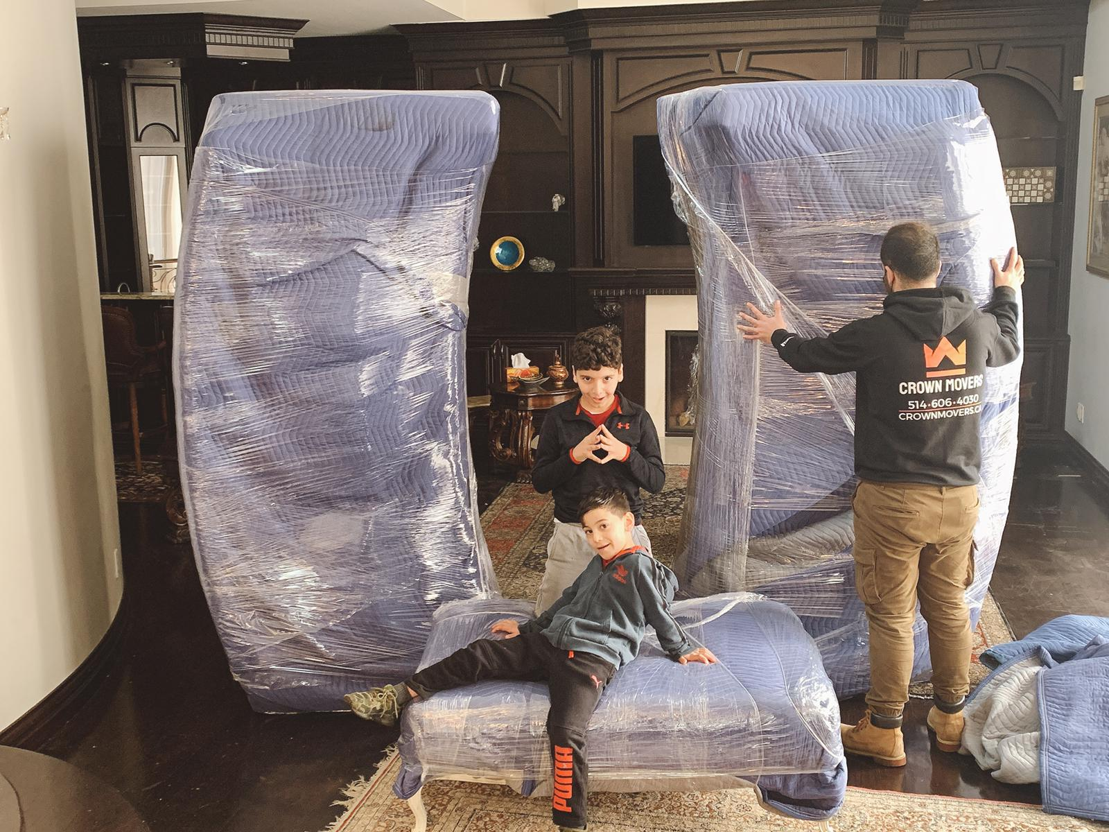Crown Movers Montreal Movers