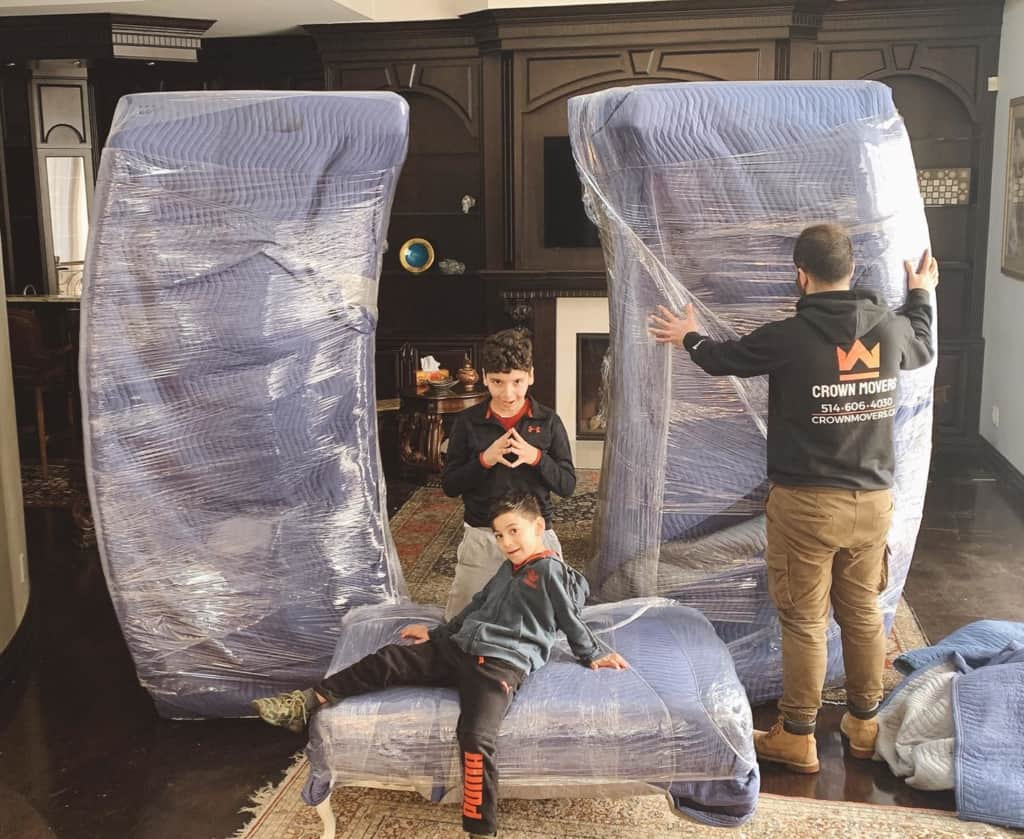 friendly home moving company in Montreal