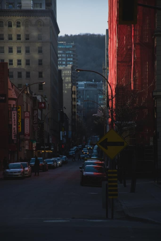 moving downtown montreal