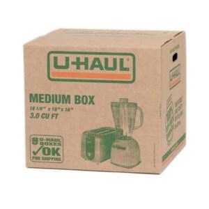 uhaul moving boxes Montreal
