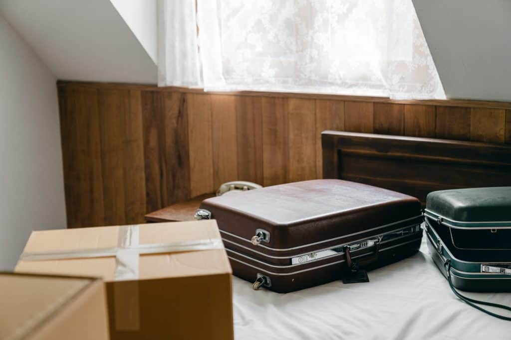 pack an overnight suitcase - moving tips